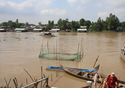 Bị khai thác quá mức, sông ngòi đang suy thoái