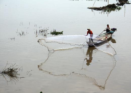 Nhiều quốc gia sẽ bị tác động rất lớn bởi hệ thống thủy điện dự kiến được xây dựng trên sông Mê Kông Ảnh: Ca Linh