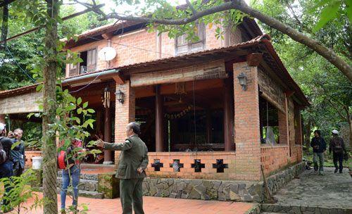 Công trình xây trái phép trong địa phận bìa rừng Nam Hải Vân