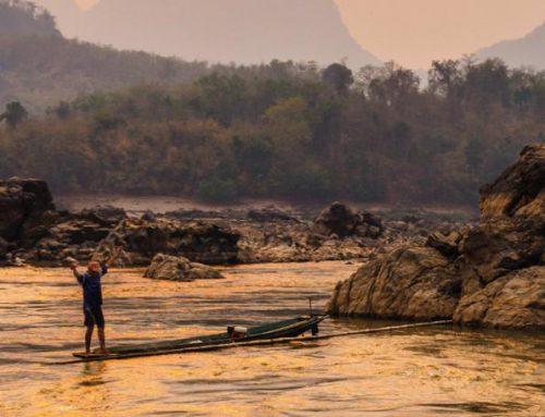 Sông Mê Công (Ảnh bìa báo cáo)