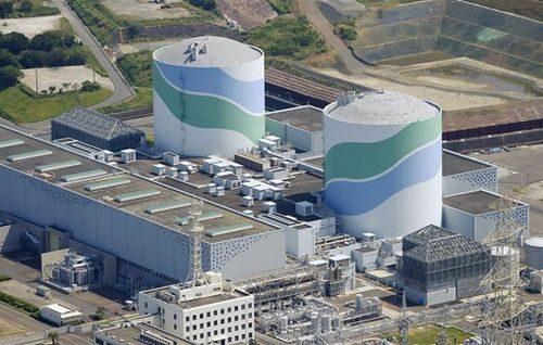 Hình ảnh Nhà máy điện hạt nhân Sendai 1 và Sendai 2 tại Satsumasendai, miền nam Nhật Bản (Ảnh: nbcnews.com)