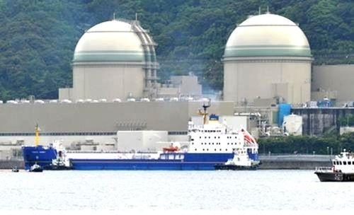 Hình ảnh Nhà máy điện hạt nhân Takahama 3 và Takahama 4 tại tỉnh Fukui, miền tây Nhật Bản (Ảnh: Japantimes)