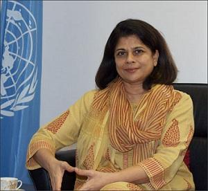 Bà Pratibha Mehta, Điều phối viên thường trú Liên Hợp Quốc tại Việt Nam.