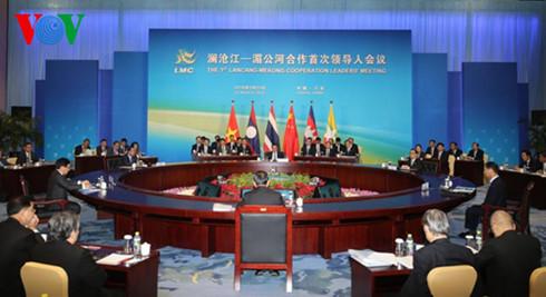 Hội nghị Mê Kông – Lan Thương thông qua Tuyên bố chung Tam Á