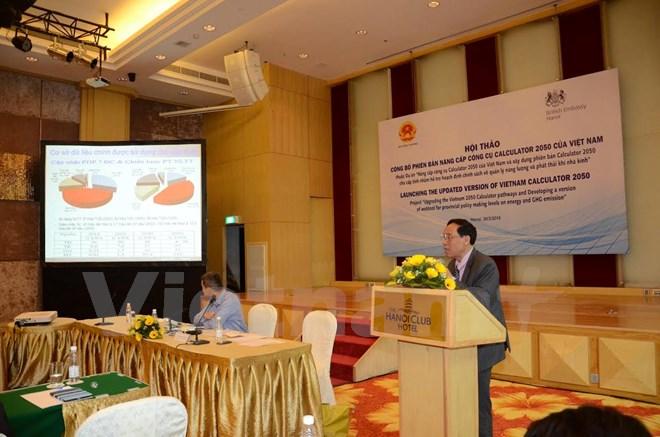 Công bố phiên bản 2050 Calculator Pathways cập nhật của Việt Nam
