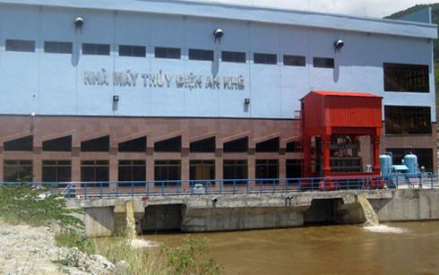 Thủy điện An Khê – Kanak: Điều tiết 86% lượng nước hồ chứa cho hạ du