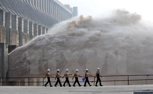 Trung Quốc thông báo xả nước lần 2 cho hạ du sông Mê Kông