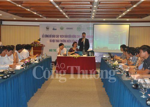 Lễ công bố báo cáo kịch bản bền vững cho ngành điện Việt Nam