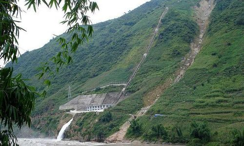 Một thủy điện nhỏ ở tỉnh Vân Nam, Trung Quốc (Ảnh: phys.org)