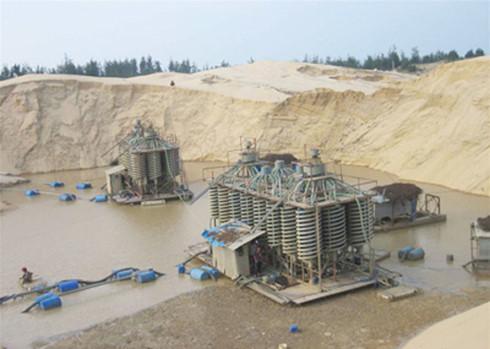 Bình Định quyết định đóng cửa mỏ khoáng sản titan