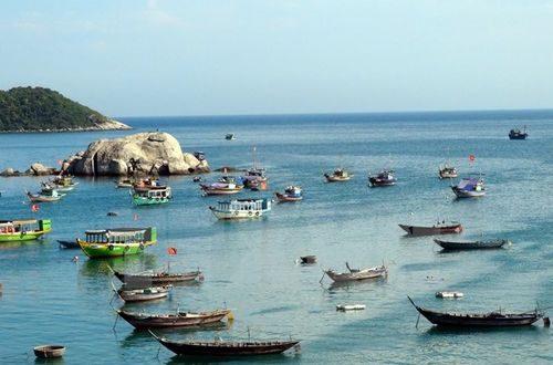 Biển đảo Cù Lao Chàm (Ảnh: Đỗ Trưởng/TTXVN)