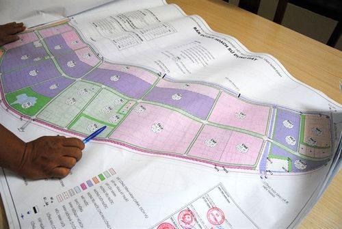 Bản đồ quy hoạch KCN dệt may Rạng Đông