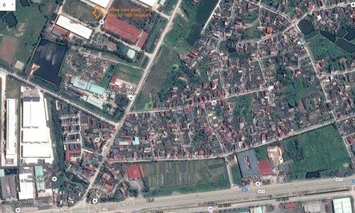 Vị trí nhà xưởng của Công ty dệt Hopex tại thị trấn Lai Cách, huyện Cẩm Giàng, Hải Dương
