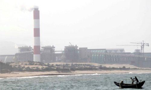 Formosa Hà Tĩnh đứng đầu danh sách gây ô nhiễm môi trường nghiêm trọng nhất Việt Nam. Ảnh: TL.