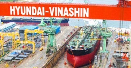Huyndai Vinashin nhiều lần bị xử phạt vì hành vi xả chất thải có chứa chất độc nguy hại (Ảnh: TL)