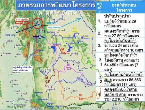 Vị trí con đập sẽ được xây dựng trên sông Loei (Ảnh: Hoàng Hường)