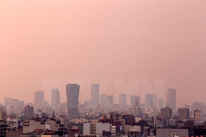 Mexico lần thứ 10 ban bố lệnh báo động ô nhiễm không khí