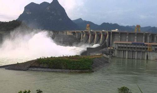Thủy điện Tuyên Quang là 1 trong 8 hồ chứa cần được đảm bảo an toàn khi bão số 3 đổ bộ vào đất liền