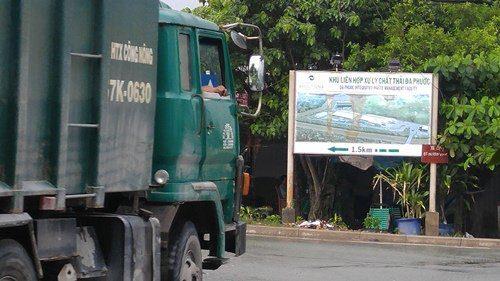 Phía VWS phủ nhận việc bãi rác Đa Phước gây ô nhiễm