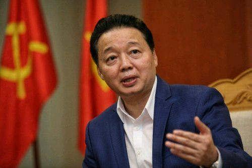 Bộ trưởng Trần Hồng Hà: Chỉ tuyên bố biển sạch hoàn toàn khi môi trường biển và hải sản biển hoàn toàn sạch (Ảnh: Lê Anh Dũng)