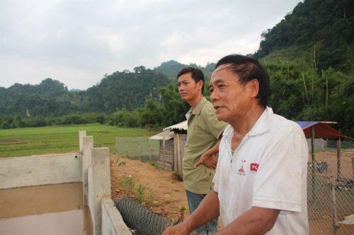 Ông Bùi Văn Suồi, người dân bản Chiềng Nưa