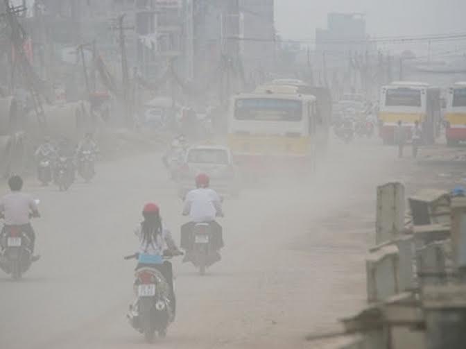 Không khí bị ô nhiễm nghiêm trọng (Ảnh: Báo điện tử Đảng Cộng sản Việt Nam)