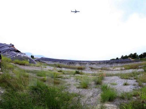 Khu vực xử lý môi trường ô nhiễm Dioxin tại Sân bay Đà Nẵng (giai đoạn 2). (Ảnh: Trần Lê Lâm/TTXVN)