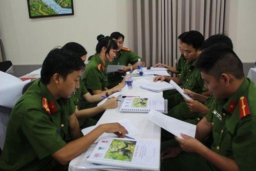 Tập huấn kỹ năng phân tích tội phạm về động vật hoang dã