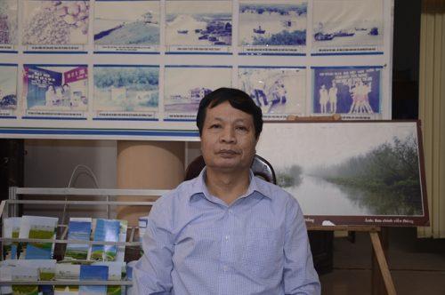 Ông Nguyễn Viết Cách, Giám đốc VQG Xuân Thủy