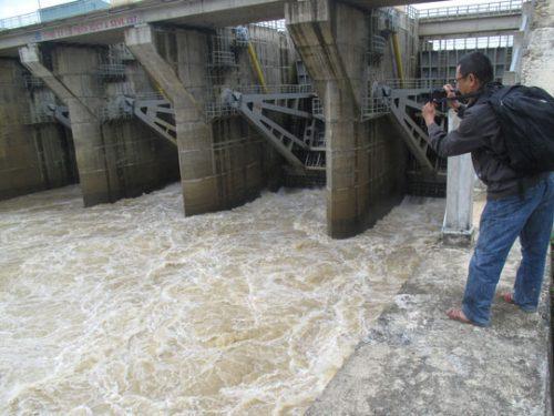 Thủy điện An Khê - Kanak xả lũ