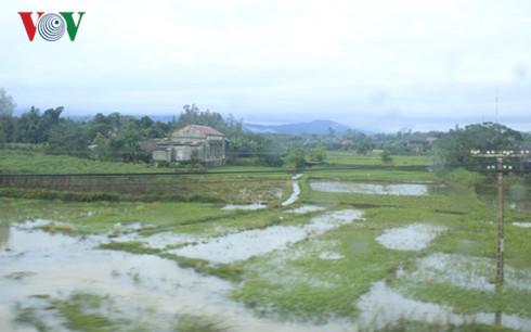 Quảng Bình tập trung khắc phục hậu quả ngập lụt.