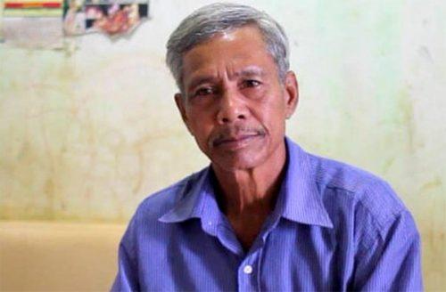 Ông A Hliuh - phó già làng Ka Bay (dân tộc Ja Rai), xã Hơ Moong, huyện Sa Thầy, tỉnh Kontum