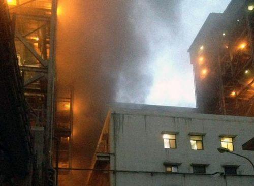 Cháy dữ dội nhà máy nhiệt điện Cẩm Phả: Vinacomin nói gì?