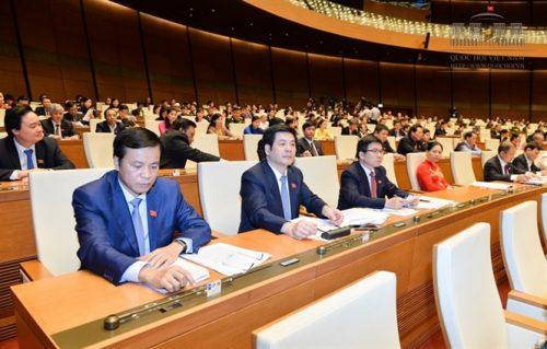 Quốc hội biểu quyết thông qua Nghị quyết
