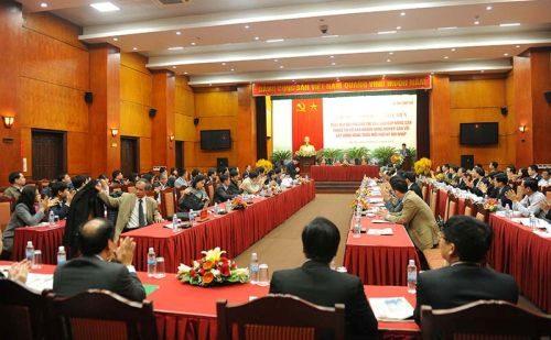 Toàn cảnh Hội thảo (Ảnh: Hoàng Anh/chinhphu.vn)