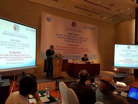 Thứ trưởng Bộ TN-MT Nguyễn Linh Ngọc phát biểu tại hội thảo