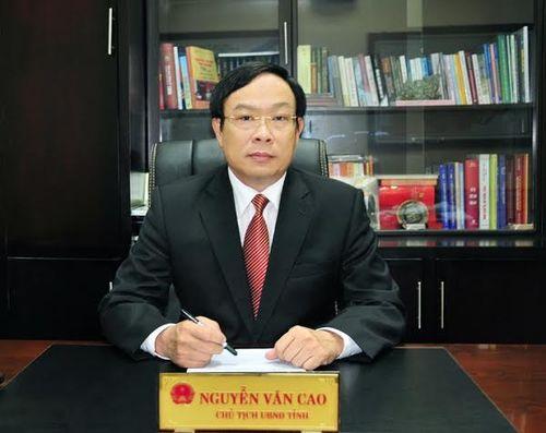Chủ tịch UBND tỉnh TT-Huế Nguyễn Văn Cao