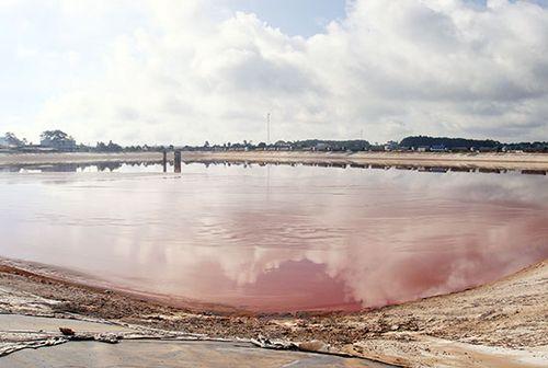 Tận dụng bùn đỏ bô xít làm gạch không nung
