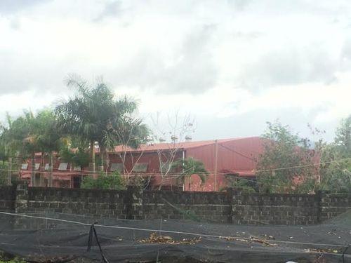 Nhà xưởng chế biến cà phê xây dựng trái phép