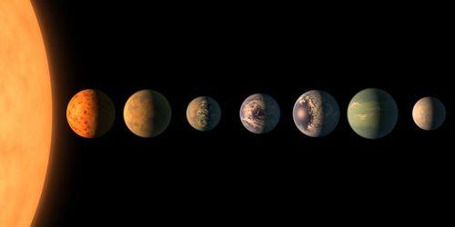 NASA phát hiện 7 hành tinh mang cơ hội cuộc sống mới cho con người
