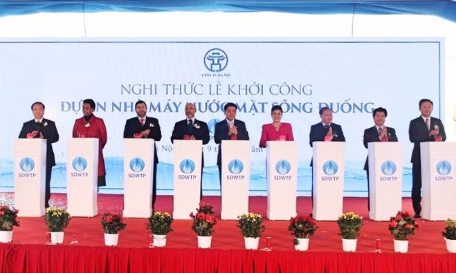 Hà Nội đầu tư nhà máy nước sạch gần 5.000 tỷ đồng