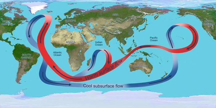 Biến đổi khí hậu tác động tới dòng hải lưu như thế nào?