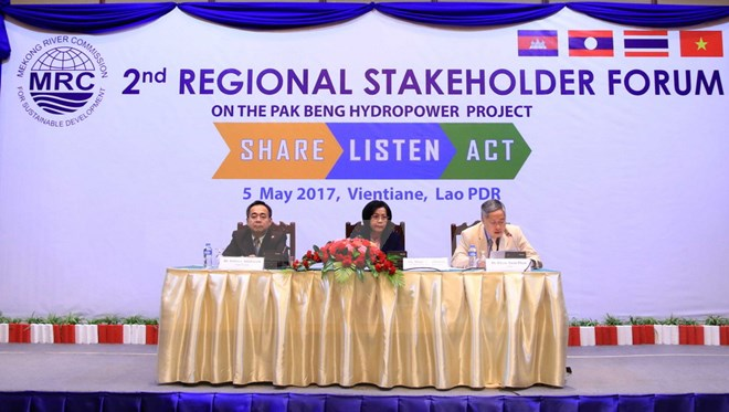 Lào tổ chức tham vấn quốc tế về xây dựng thủy điện trên sông Mê Kông