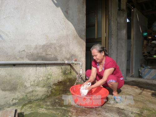 Tín dụng nước sạch cải thiện chất lượng cuộc sống cho người dân