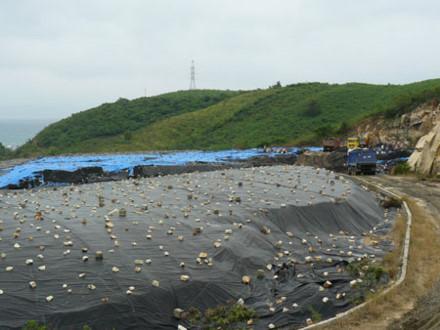 Khánh Hòa đã xử lý được ½ núi hạt nix thải