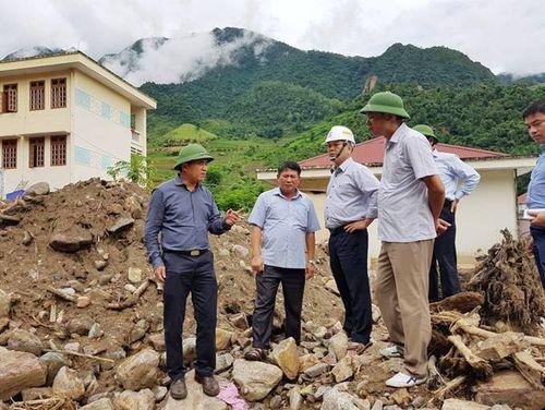 Hỗ trợ Sơn La và Yên Bái lập quy hoạch tổng thể vùng lũ quét