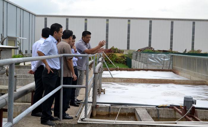 Đưa hoạt động thu gom, xử lý nước thải tại cụm công nghiệp vào quy củ