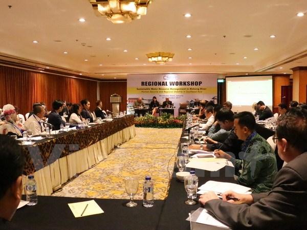 Thúc đẩy hợp tác quản lý bền vững nguồn nước sông Mê Kông