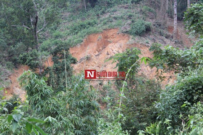 Nghệ An: Nóng tình trạng xẻ núi đào sông để khai thác vàng