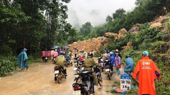 Cảnh báo lũ quét, sạt lở đất từ Quảng Ngãi đến Bình Thuận